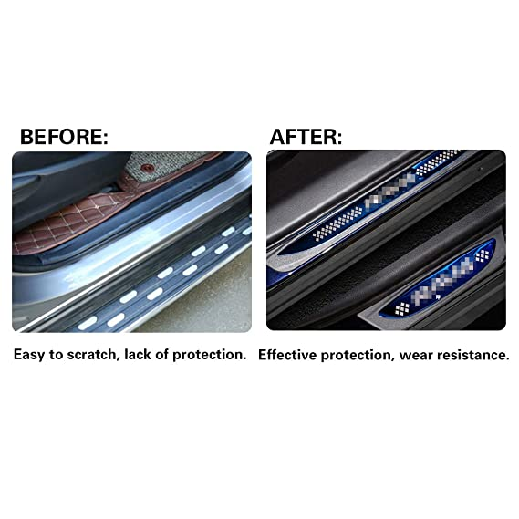 YEE PIN Battitacco per X-Trail Acciaio Inossidabile Batticalcagno Pedale Protezione Ricambi Auto