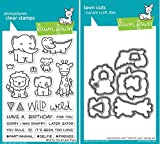 Lawn Fawn Wild for You Stamp and Die Bundle (LF1413) and (LF1414)