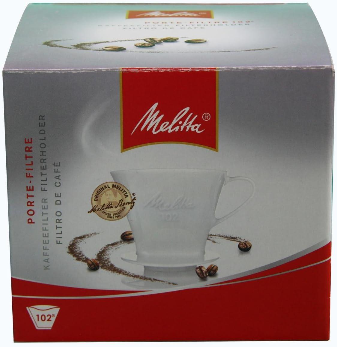 Melitta 102 - Filtro reutilizable para café, color blanco: Amazon ...