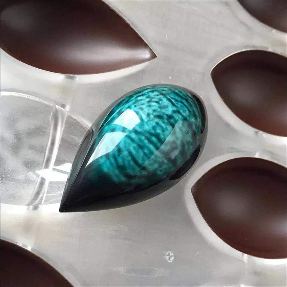 polycarbonat klar Form DIY handgemachte Maker eisform kuchenform Werkzeuge f/ür gelee Pastry k/üche Werkzeuge backen Betteros 16 l/öcher schokoladenform