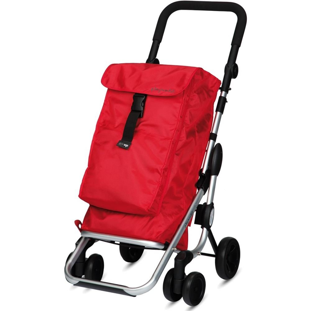 Red Playmarket Go Up Valise 48 cm 39.5 liters Rouge