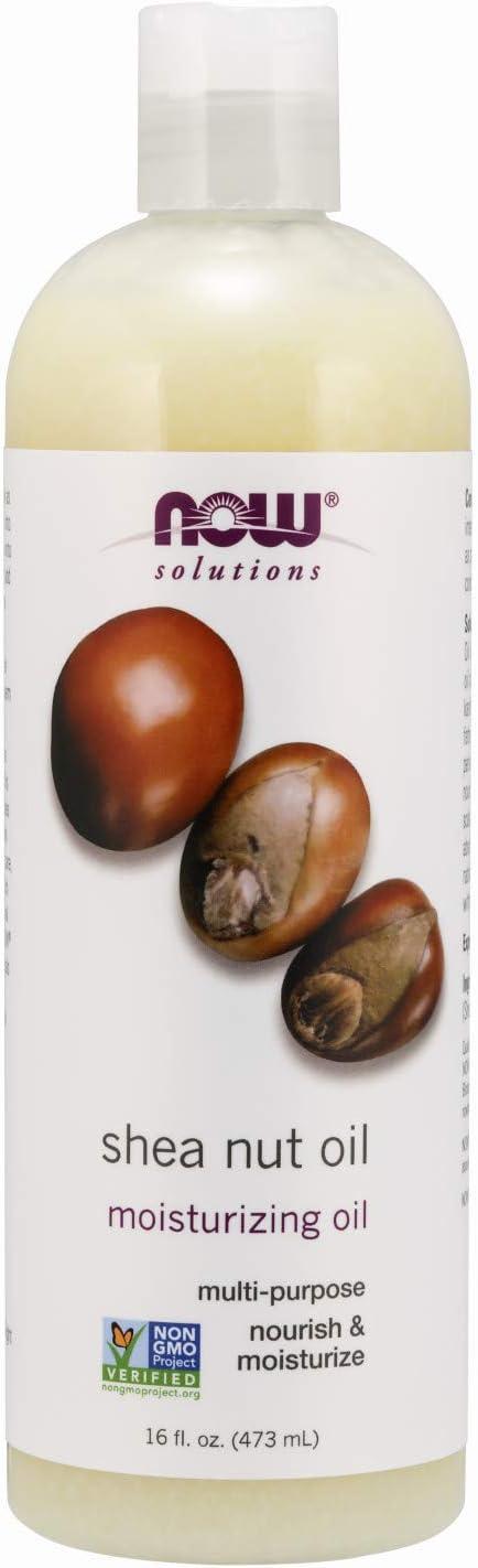 Now Foods Shea aceite de nuez, líquido - 473 ml. 480 g