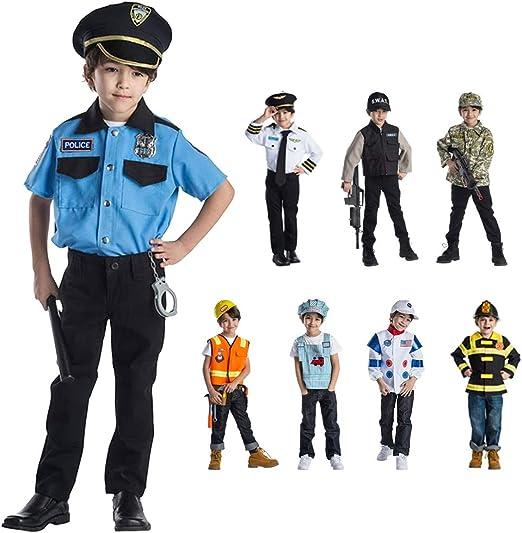 Dress Up America Costume de jeu de rôle principal de police