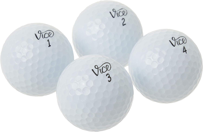Vice Drive Golf Balls, White (One Dozen) : Sports & Outdoors