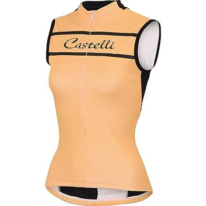 Amazon.com   Castelli Promessa Sleeveless Jersey   Sports   Outdoors b7dccdfb7
