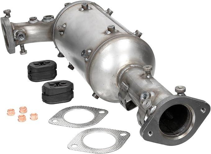 Ecd Germany Kat 123 Dieselpartikelfilter Ruß Partikelfilter Länge Mm 670 Mit Montagesatz Dpf Partikelfilter Abgasanlage Auto