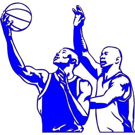 zqyjhkou Baloncesto Jugador Negro Deporte Americano Pegatinas de ...