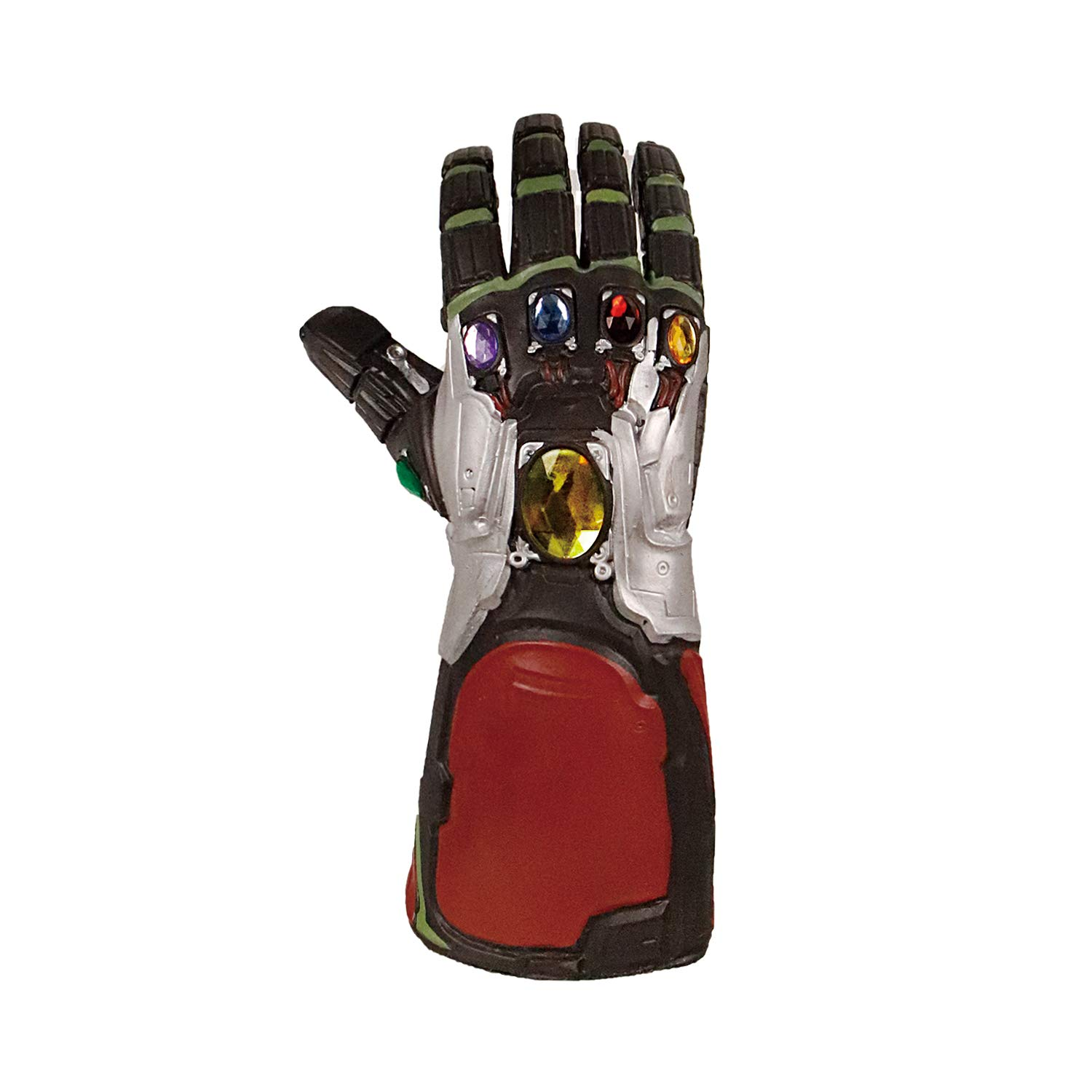 Marvel Arm Avengers 4 Endgame Black Infinity Gauntlet Latex Thanos Gloves Iron Man Fist for The Avengers Cosplay Prop Costume