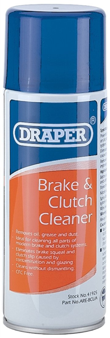 Draper 41925 400ml Brake and Clutch Cleaner Draper Tools Ltd. B000TO9SK0
