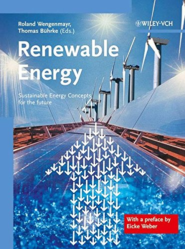Renewable Energy: Sustainable Energy Concepts for the Future