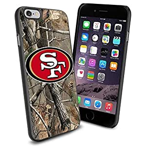 American Football NFL SF Sanfran cisco 49ers , Cool iphone 4 4s Smartphone Case Cover Collector iphone TPU Rubber Case Black