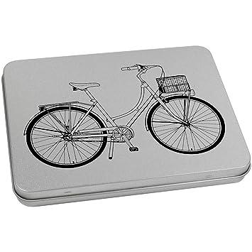 Azeeda 170mm x 130mm Bicicleta Vintage Caja de Almacenamiento ...