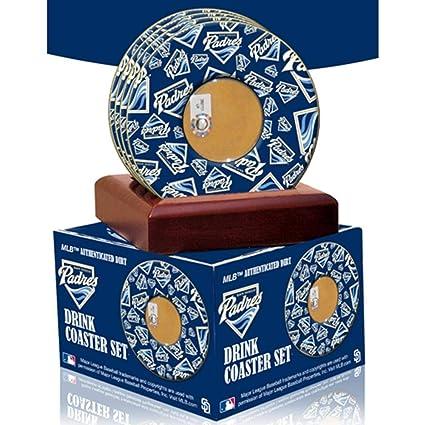 Amazon.com: MLB San Diego Padres Posavasos con certificado ...