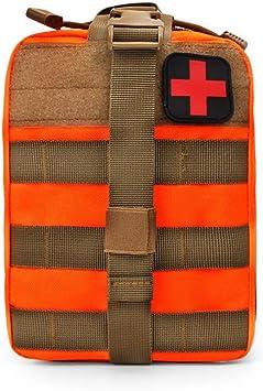 Botiquín de primeros auxilios, Estuche táctico MOLLE Set-IFAK EMT Estuche de primeros auxilios, Supervivencia de emergencia militar,C: Amazon.es: Deportes y aire libre