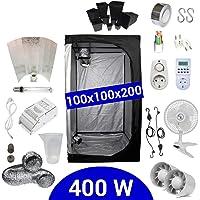 Kit de cultivo interior 400W SHP Stuko