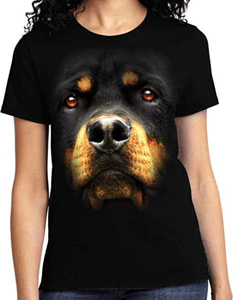 Amazoncom Buy Cool Shirts Ladies Rottweiler T Shirt Clothing