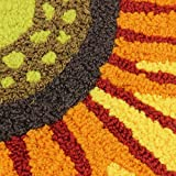 Yellow Sunflower Rugs for Bedroom/Living