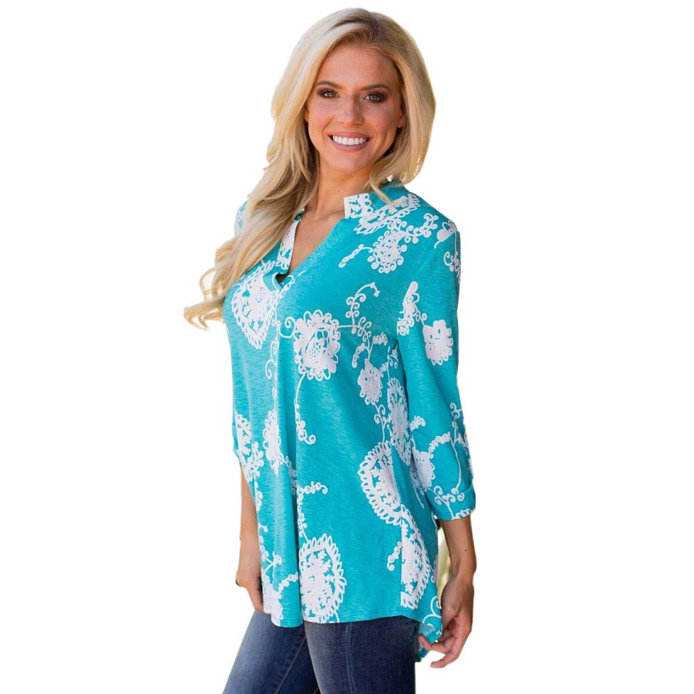 Amazon.com : Clearance!HOSOME Women Top Womens Summer, Autumn Women Printed Long Sleeve Plus Size Casual Blouse Loose Tops T-Shirt : Grocery & Gourmet Food