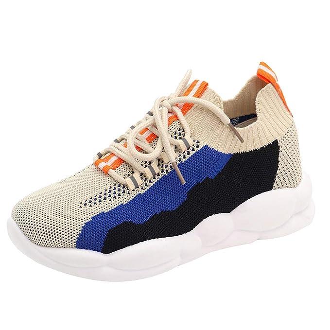 fiosoji Zapatos de malla,zapatos de malla transpirable con amortiguador de aire,zapatillas running mujer baratas: Amazon.es: Ropa y accesorios