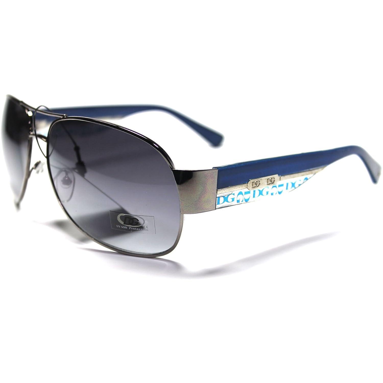 #DG17-HC5 DG Eyewear Stylish Women's Aviator Sunglasses + Hard Case