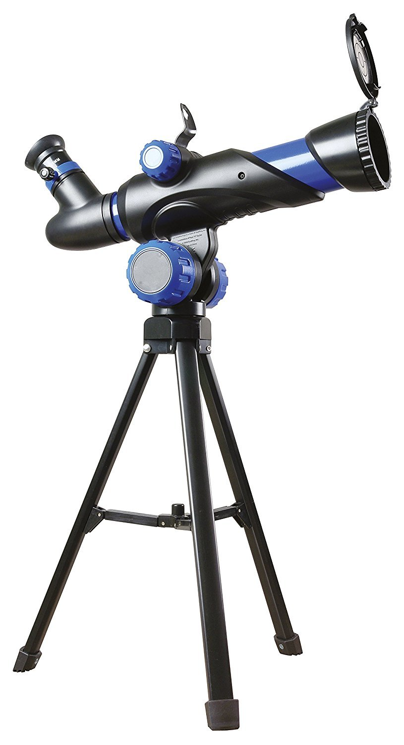 Buki Kids Beginner Telescope with Floor Tripod 90X Zoom Lens for Kids Age 8 and Over by Buki