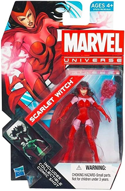 Marvel Los Vengadores todas las estrellas SCARLET WITCH figura de 3.75 pulgadas