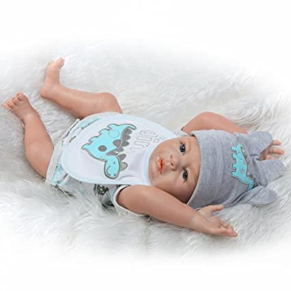 c458090058b2 Evursua Anatomically Correct Reborn Twins Dolls Real Lifelike Babies Boy  and Girl Full Body Silicone