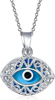 lamp work evil eye necklace Murano glass evil eye necklace evil eye beads greek evil eye blue evil eye necklace evil eye charm necklace