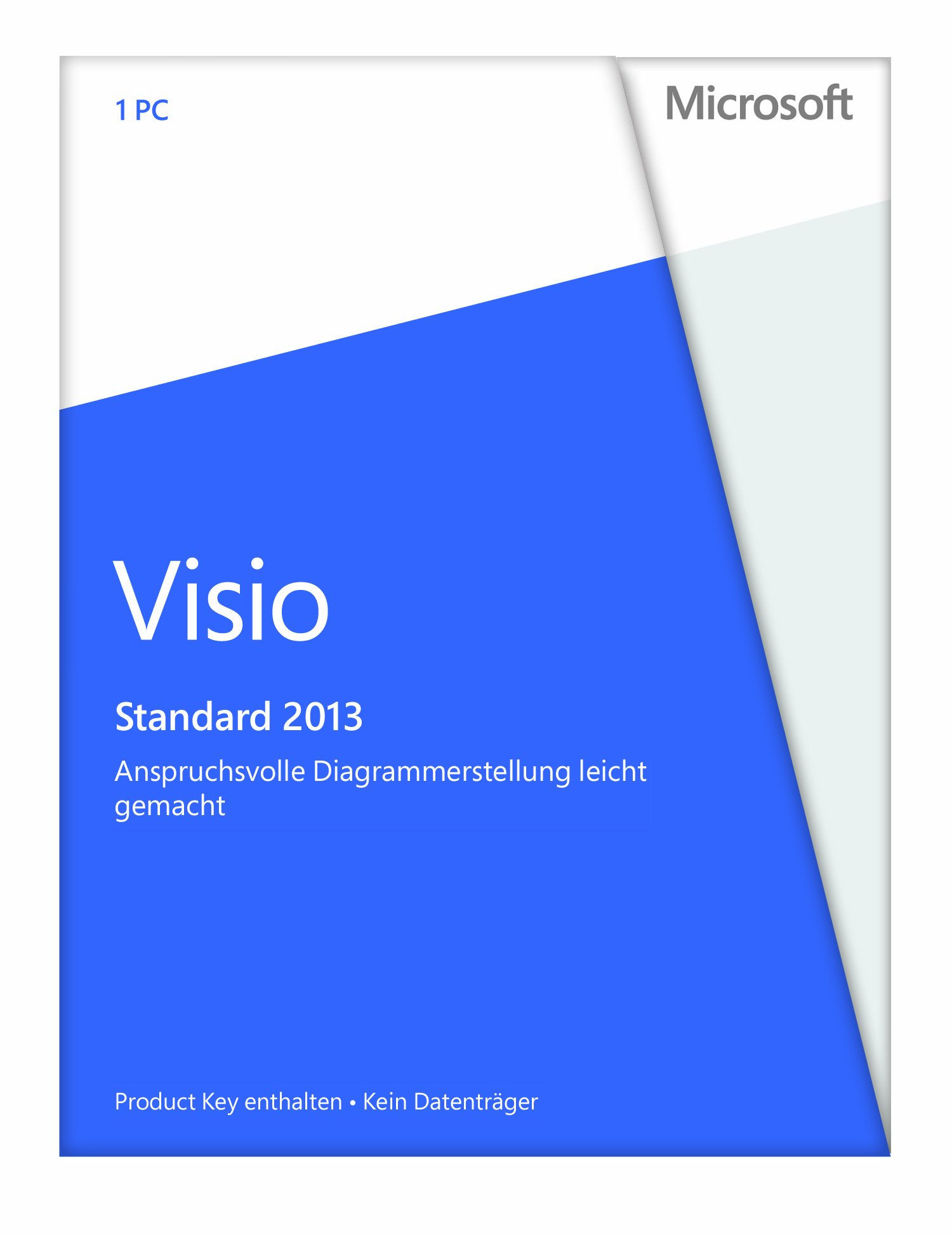 Microsoft D86-04736 Visio Stand 2013 Medialess PKC