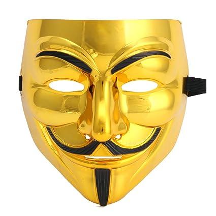 Chunshop encantador de V de Vendetta máscara de Guy Fawkes anónimo disfraz disfraces Cosplay