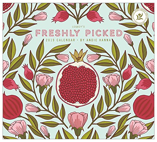 - 2019 Wall Calendar, Freshly Picked