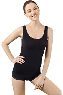 a0bc93c487 MD Sexy Shapewear Camisole Womens Seamless Tank Tops Body Shaper Tummy  Control Shapewear for Waist and