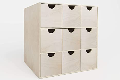 New Swedish Design Cajonera IKEA Kallax - Estantería de Mini ...