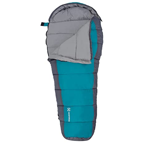 size 40 5bd46 9b391 Winterial Kids Sleeping Bag, Youth Mummy Bag for Camping, 40 Degrees  Temperature Rating