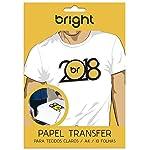 Papel Transfer, BRIGHT, 00121, Branco, pacote de 10