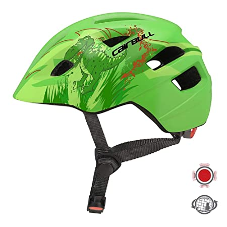 lingzhuo-shop Casco De Bicicleta Casco De Motocicleta 3-12 Años ...