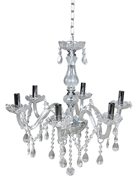 Tms clear crystal chandelier lighting 6 lights fixture pendant tms clear crystal chandelier lighting 6 lights fixture pendant ceiling lamp lighting aloadofball Image collections