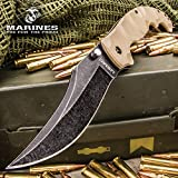 United States Marine Corp Scorching Sands Clip Point Pocket Knife