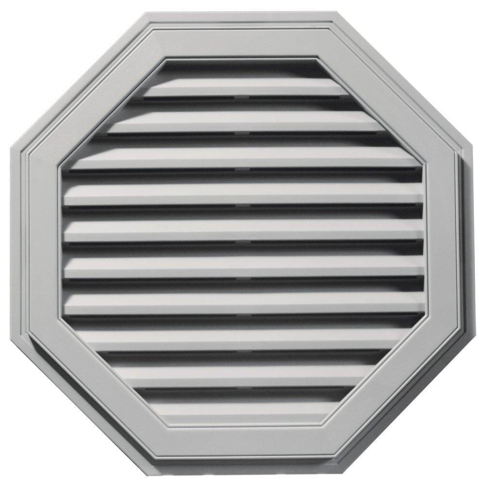 Builders Edge 120013232030 32'' Octagon Vent 030, Paintable