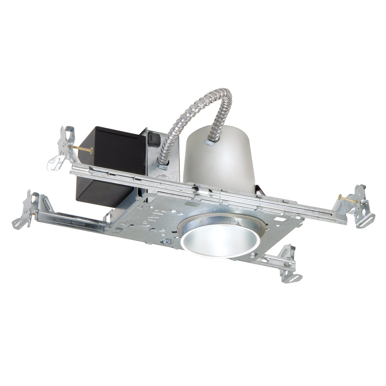 Halo Recessed H36LVTAT 3-Inch Housing Non-Ic Air-Tite Shallow Ceiling 12-Volt Low Voltage