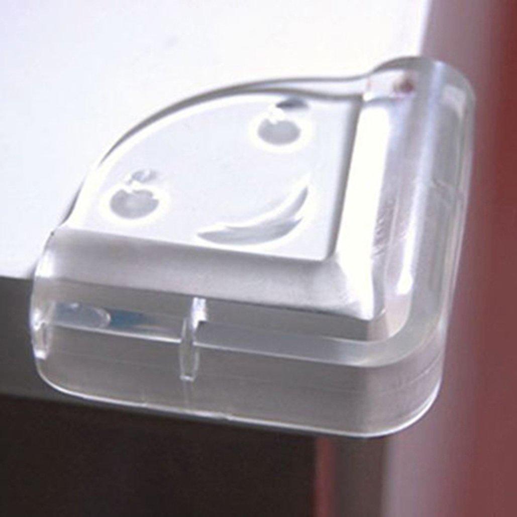 4/pcs clair Table Bureau Coin Edge Garde S/écurit/é b/éb/é meubles pare-chocs de protection Coussinets protecteurs Table gardes Coque