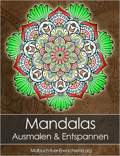 Mandala Malbuch Für Erwachsene Mandalas Zum Entspannen Stressabbau