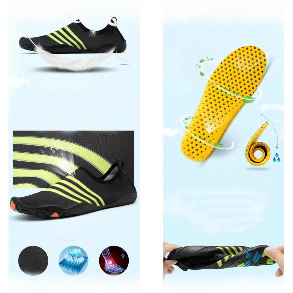 Zegoo Aqua Water Shoes Neoprene Socks Flat Beach Shoe for Diving Surfing