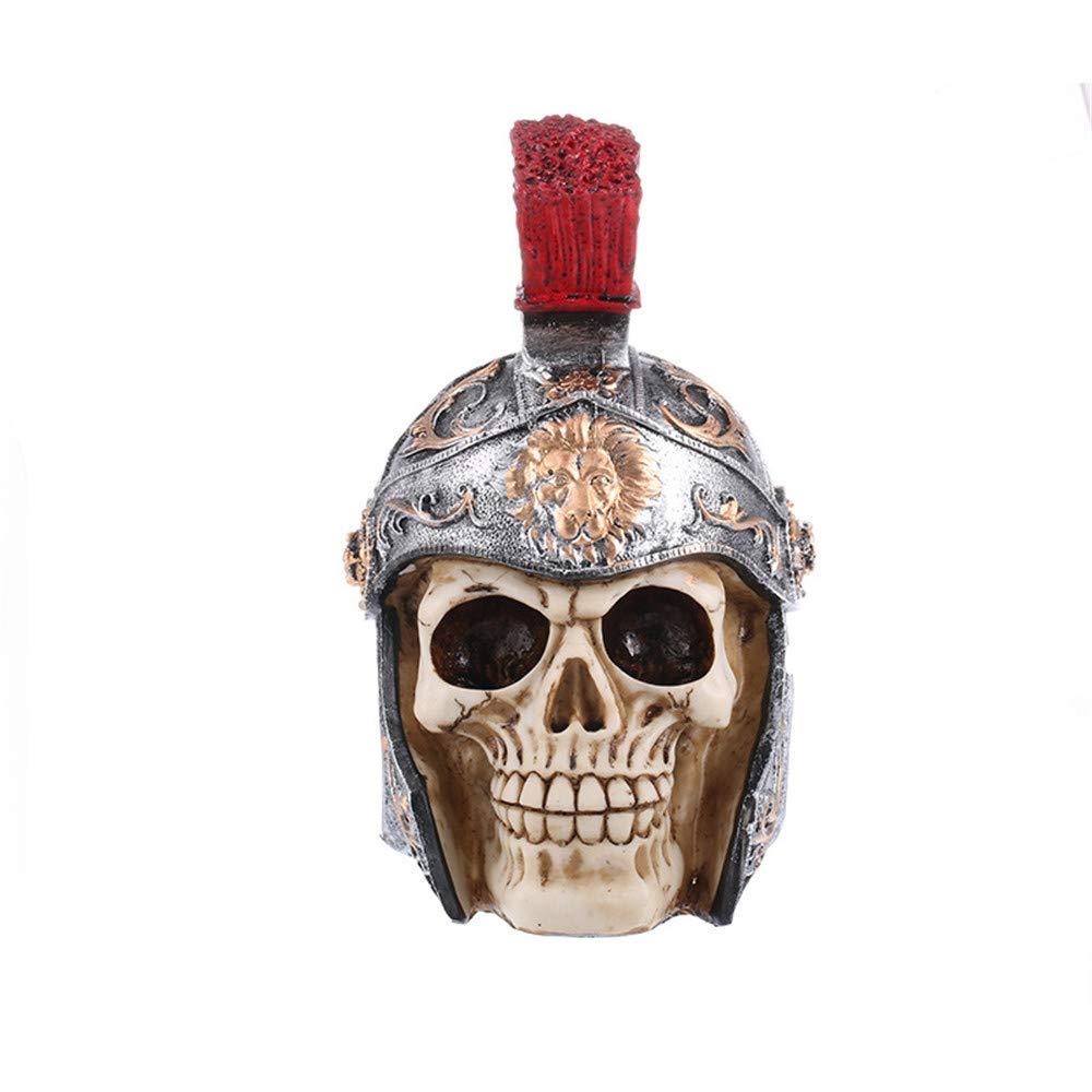 Sammid Skeleton Skull Halloween, Human Skull Halloween Home Party Decor Realistic Looking Skeleton Skull for Best Halloween Decoration