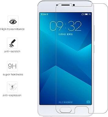 Tumundosmartphone Protector Cristal Templado para MEIZU M5 5.2 ...