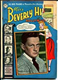 good art hollywood - Miss Beverly Hills of Hollywood #9 1950-DC-Good Girl Art-Wendell Corey-FR
