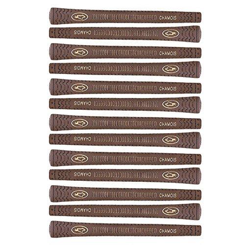 chamois brown golf grip