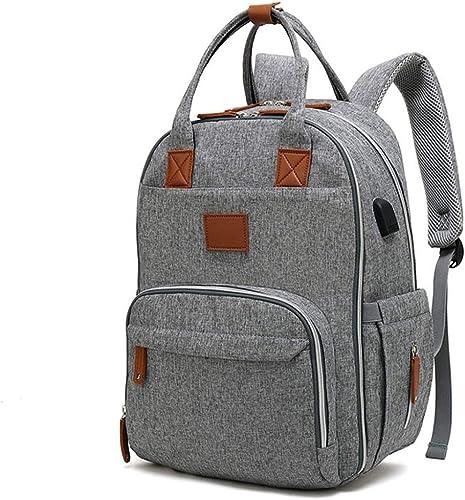 BYDUBEE mens 2019 Neutral Multifunction Bag Backpack 12 x