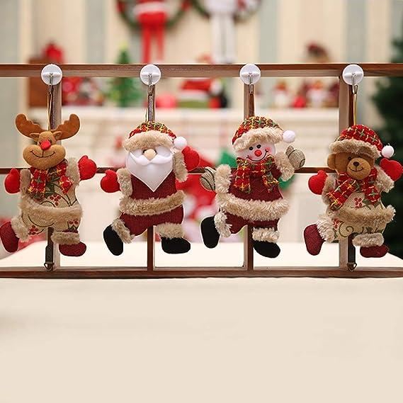 Decoración De Exterior Romdink Adornos De Navidad Hechos A Mano Inicio  Decoración De Navidad Regalo Del ...