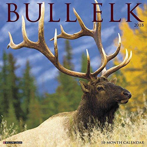 Bull Elk 2018 Calendar
